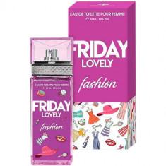 Туалетная вода для женщин Friday Lovely Fashion 100 мл SERGIO NERO