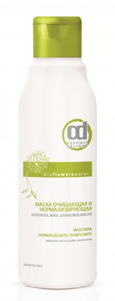 CONSTANT DELIGHT Маска очищающая и нормализирующая для волос / BIO FLOWER 250 мл