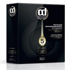 CONSTANT DELIGHT 8.89 масло для окрашивания волос, красное вино / Olio Colorante 50 мл