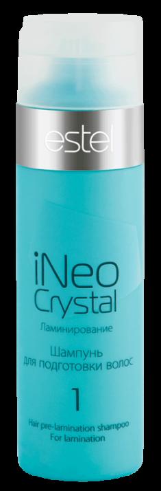 ESTEL PROFESSIONAL Шампунь для подготовки волос к ламинированию / iNEO-CRYSTAL 250 мл