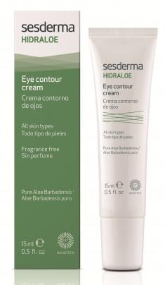 SESDERMA Крем-контур увлажняющий вокруг глаз / HIDRALOE Eye contour cream 15 мл