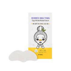 патч для носа с экстрактом яичного белка a'pieu hidden solution egg white nose patch