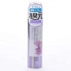 Kobayashi Shoshugen Relax Aroma Освежитель-аэрозоль для туалета аромат нежных цветов, 280 мл
