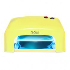 ruNail, Лампа UV, модель GL-515, 36W, желтая (электронная)