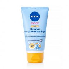 Нивея Сан Кидс Нежный солнцезащитный крем SPF50 для детей от 3 до 36 месяцев туба 75мл NIVEA