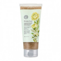 Скраб для тела с семенами белого пиона The Face Shop Perfume Seed White Peony Body Scrub 200 мл
