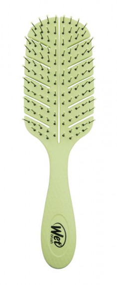 WET BRUSH Щетка экологически чистая для спутанных волос, зеленая / WET BRUSH Go Green Detangler