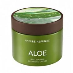 крем очищающий с экстрактом алоэ nature republic real nature cleansing cream aloe