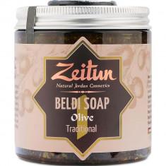 Деревенское мыло Бельди №1 традиционное с оливой и эвкалиптом Зейтун