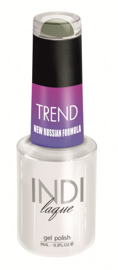 RuNail 5053 гель-лак для ногтей / INDI laque Trend 9 мл