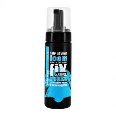 Пенка для укладки волос CAFE MIMI Фиксация и объем с керамидами 150 мл