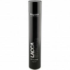 Лак аэрозольный для волос сильной фиксации Kapous Professional