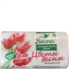 Мыло твердое Цветы весны Тюльпан Весна
