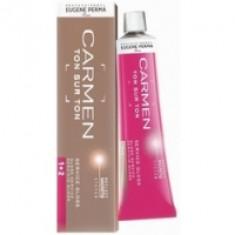 Eugene Perma Carmen Ton Sur Ton Gloss G.40 - Краска для волос с эффектом глянцевого блеска, медный интенсивный, 60 мл
