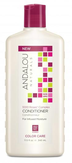 ANDALOU NATURALS Кондиционер для сухих, поврежденных и окрашенных волос 1000 роз 340 мл