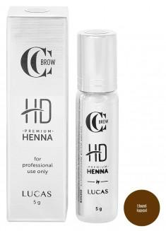 LUCAS' COSMETICS Хна для бровей, орех / CC Brow Premium henna HD Hazel 5 г
