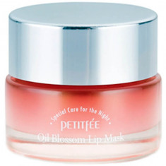 Petitfee Маска для губ с маслом камелии Oil Blossom Lip mask 15г