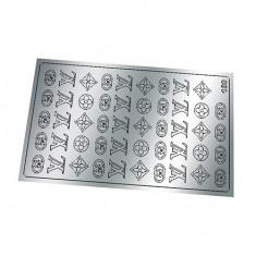Freedecor, Металлизированные наклейки №180, серебро