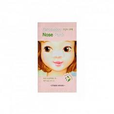 патч очищающий для носа etude house  greentea nose pack ad