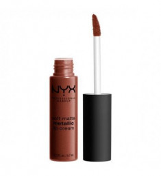 NYX PROFESSIONAL MAKEUP Матовая жидкая помада Soft Matte Metallic Lip Cream - Dubai 12