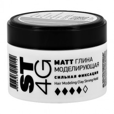 Моделирующая глина для волос ESTEL ST4G Сильная фиксация 65 мл