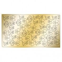 Freedecor, Металлизированные наклейки №209, золото