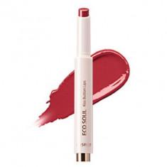 Помада для губ THE SAEM Eco Soul KISS Button Lips 13 Shy Smile 2г