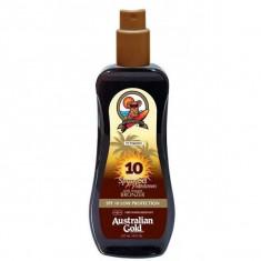 Australian Gold SPF Солнцезащитный Лосьон для загара SPF10 Spray Gel with Bronzer 237 мл