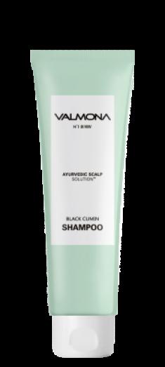 Шампунь для волос АЮРВЕДА EVAS VALMONA Ayurvedic Scalp Solution Black Cumin Shampoo 100мл