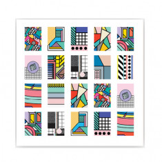 ONIQ, Слайдер-дизайн Transfer, Abstraction №2