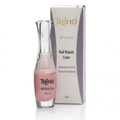 Trind, Укрепитель для ногтей Repair, розовый перламутр, 9 мл