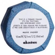 Davines More Inside Forming Pomade - Помада моделирующая для текстурных и пластичных образов, 75 мл