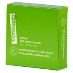 Concept Anti-Sebo Lotion - Лосьон для жирных волос, 5*10 мл