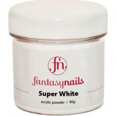 Пудра ярко-белая Super White FANTASY NAILS