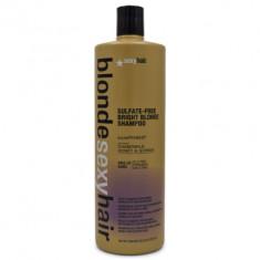 Шампунь корректирующий сияющий Блонд SEXY HAIR Bright Blonde Shampoo 1000мл
