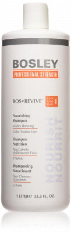 Шампунь питательный для истонченных окрашенных волос Bosley Bos Revive Step 1 Nourishing Shampoo Visibly Thinning Color-Treated Hair 1000мл