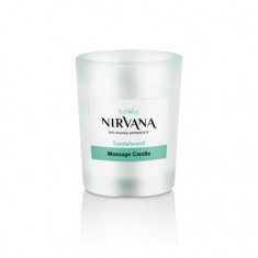 Italwax, Массажная свеча-масло с запахом сандала Nirvana, 50 мл
