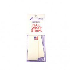 SoftTouch,Шелк для ремонта ногтей Strips, 2 полоски SOFT TOUCH