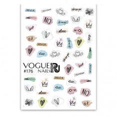 Vogue Nails, Слайдер-дизайн №176