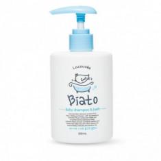 Детский шампунь и пенка для купания 2 в 1 Biato Baby shampoo & bath Lacouvee, 300 мл