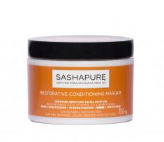 SASHAPURE Маска восстанавливающая бессульфатная для волос с натуральными маслами / Conditioning Masque 227 мл
