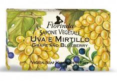 FLORINDA Мыло растительное, виноград и черника / Uva e Mirtillo 200 г