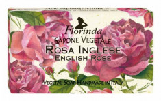 FLORINDA Мыло растительное, роза / Rosa 200 г