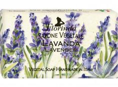 FLORINDA Мыло растительное, лаванда / Lavanda 200 г