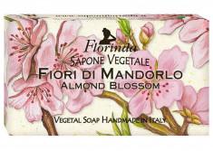 FLORINDA Мыло растительное, цветок миндаля / Fiori Di Mandorlo 200 г