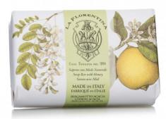 LA FLORENTINA Мыло натуральное, акация и цитрон / Acacia & Citron 200 г