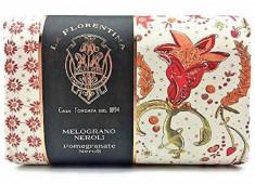LA FLORENTINA Мыло натуральное, гранат и цветок нероли / Pomegranate & Neroli 270 г