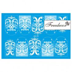 Freedecor, Слайдер-дизайн «Аэрография» №25w