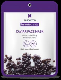 Маска питательная для лица Sesderma BEAUTYTREATS Black caviar face mask 22мл