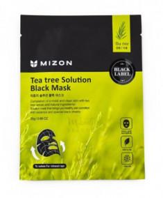 Тканевая маска с экстрактом чайного дерева MIZON Tea Tree Solution Black Mask
